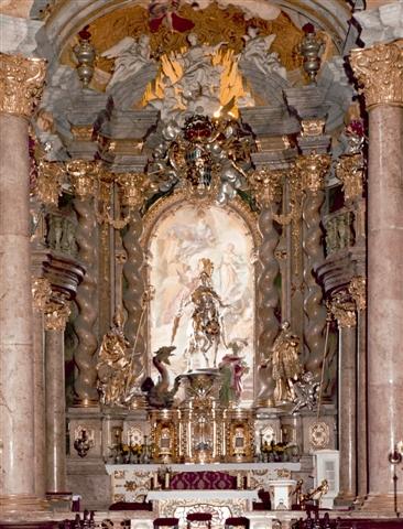 Asamkirche des Klosters Weltenburg